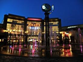 Arkadia, sentraleuropas største shoppingsenter