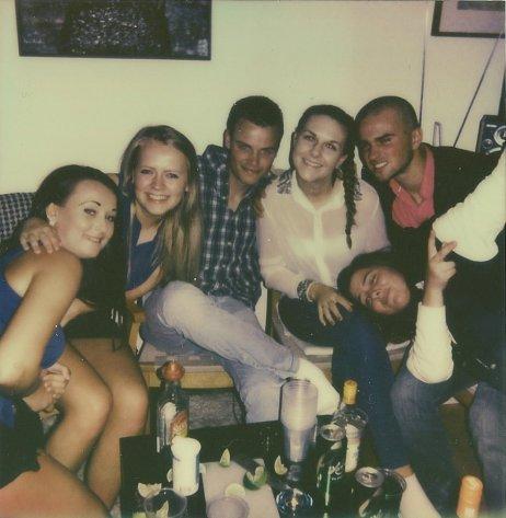 Malin, Eidi, Sander, Amalie, Erik