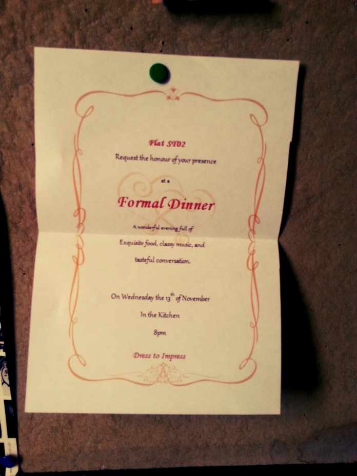 The adorable invitation