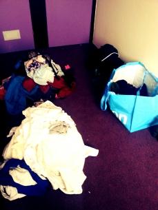 Tooo much laundry...