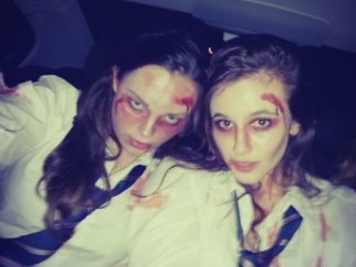 Scary zombie and sex zombie