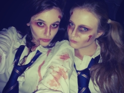 Jodie and Katharine
