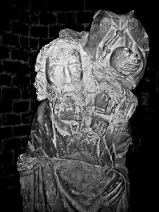 Statue in Norwich Castle