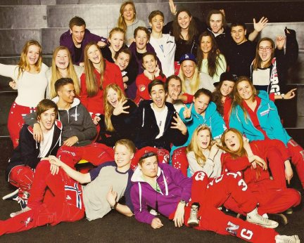 My class photo in our russ-trousers!