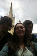 Luke, me and David