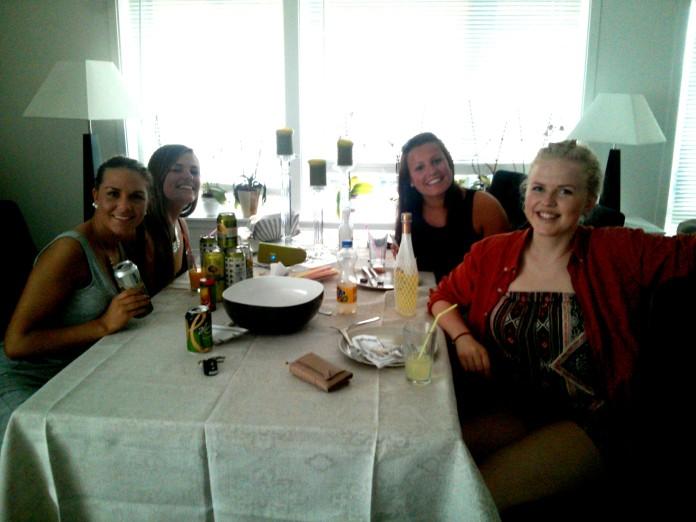 Amalie, Karoline, Elisabeth and Inger