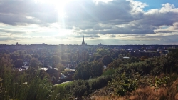View from mousehold heath