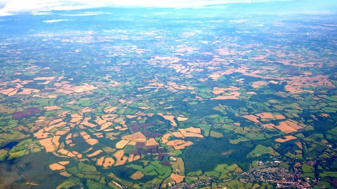 Lovely patchwork of England