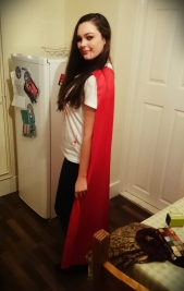 Vampire with cape