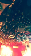 The ceiling in Playhouse