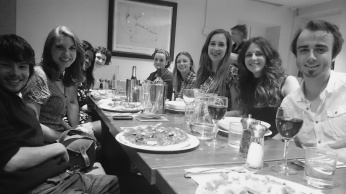 The gang at Prezzos
