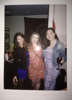 Hannicke, Jennifer and myself